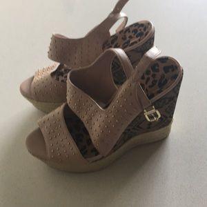 NWOT Jessica Simpson Wedge Sandals